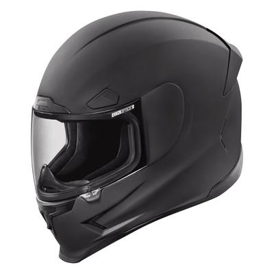 Icon Airframe Pro Rubatone Black Helmet