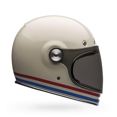 Bell Bullitt Stripes Pearl White Helmet