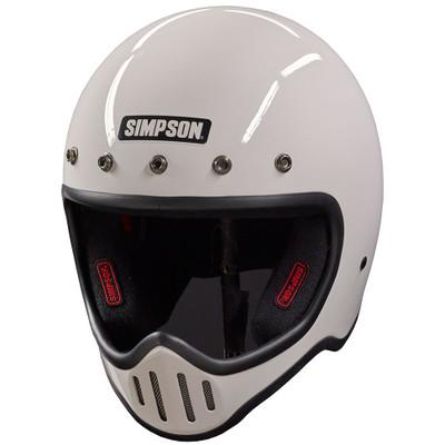 Simpson M50 Helmet - White