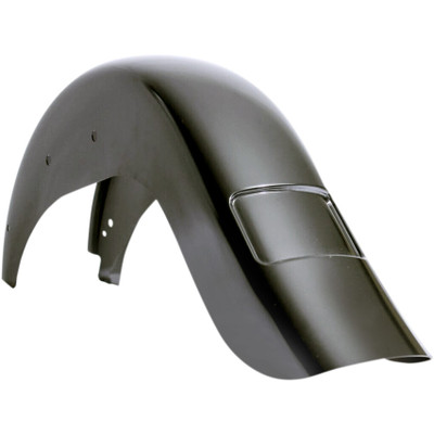 """Klock Werks 4"""" Frenched Stretched Rear Fender for 2012-2017 Harley Softail Slim"""