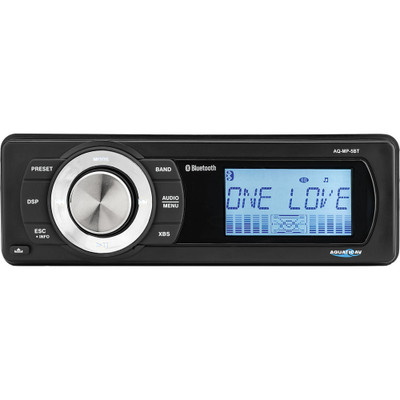 Aquatic AV Harley-Davidson Bluetooth Stereo for 1998-2013 Harley Touring