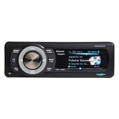 Aquatic AV Harley-Davidson Sirius XM Bluetooth Stereo for 1998-2013 Harley Touring
