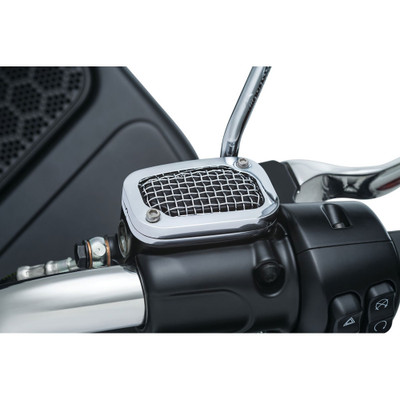 Kuryakyn Mesh Brake Master Cylinder Cover for Harley '08-'17 Touring & '09-'13 Trike