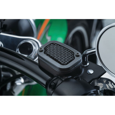 Kuryakyn Mesh Brake Master Cylinder Cover for 2015-2017 Harley Softail