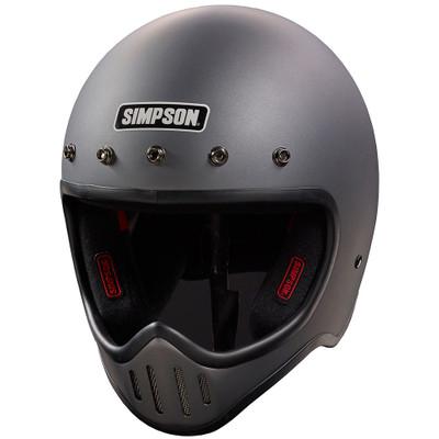 Simpson M50 Helmet - Matte Gunmetal