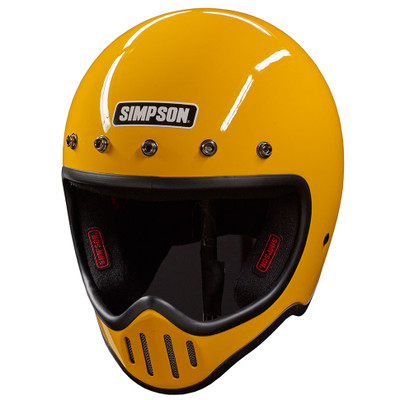 Simpson M50 Helmet - Yellow