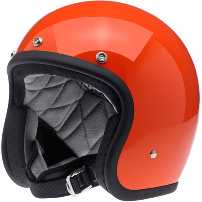 Biltwell Bonanza Helmet - Gloss Hazard Orange