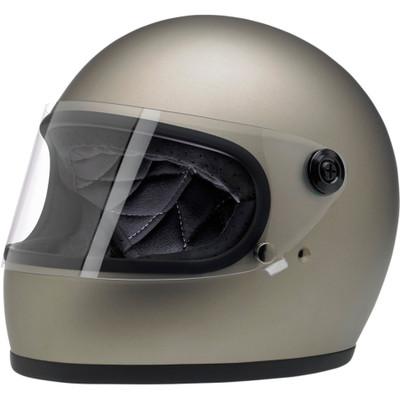Biltwell Gringo S Helmet - Flat Titanium