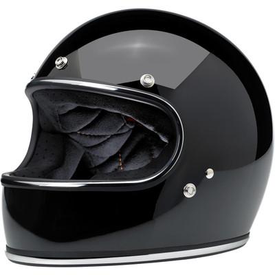 Biltwell Gringo Helmet - Gloss Black