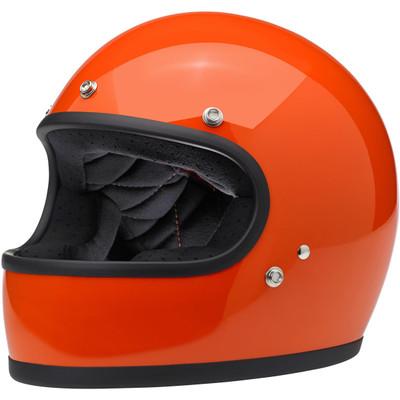 Biltwell Gringo Helmet - Gloss Hazard Orange