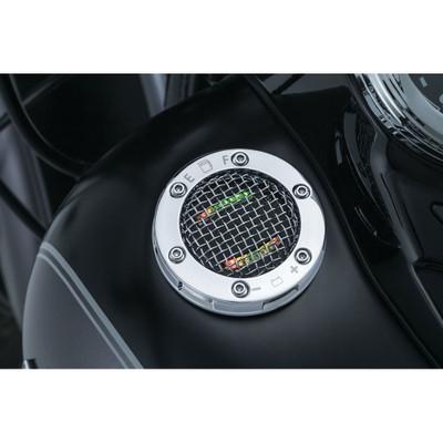 Kuryakyn Mesh L.E.D. Fuel & Battery Gauge for Harley