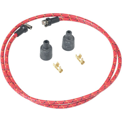 Lowbrow Customs 7mm Cloth Spark Plug Wire Set