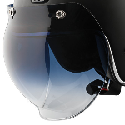 Speed and Strength 3-Snap Universal Bubble Shield - Smoke Gradient