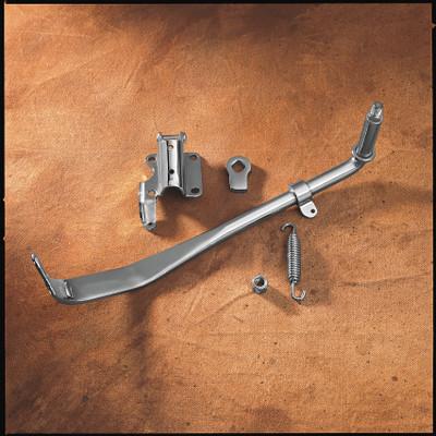 Drag Specialties Chrome Kickstand Kit for 1985-1986 Harley Softail