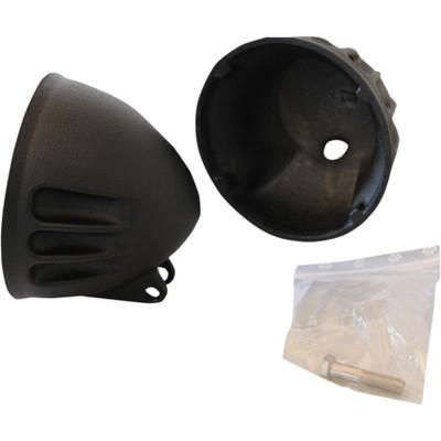 """EMD 5-3/4"""" Vitamin A Headlight Bucket for Harley - Black"""