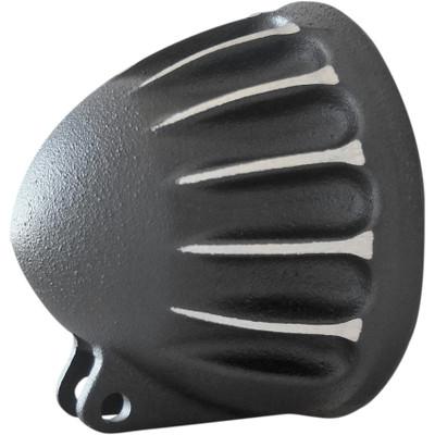 "EMD 5-3/4"" Vitamin C Headlight Bucket for Harley - Black Cut"