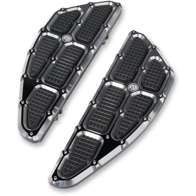 Roland Sands Traction Driver Floorboards for Harley - Contrast Cut