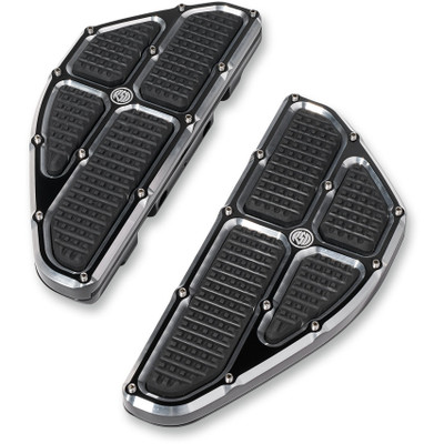 Roland Sands Traction Passenger Floorboards for Harley - Contrast Cut