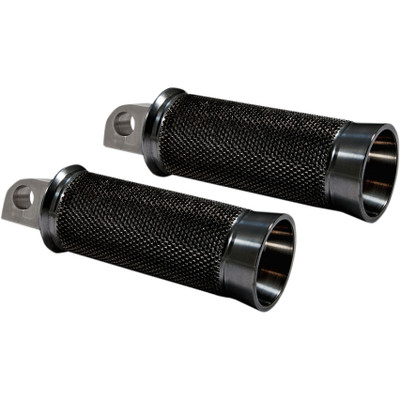 Speed Merchant Cruiser Foot Pegs for Harley - Black