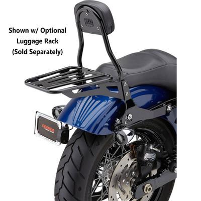 Cobra Detachable Backrest Kit for 2006-2017 Harley Dyna - Black