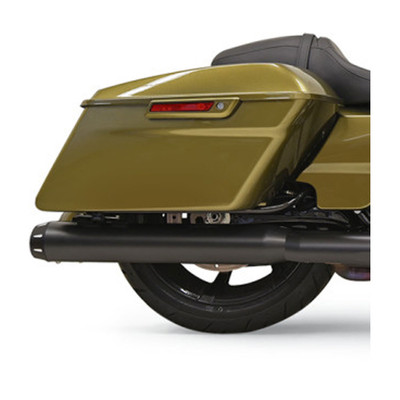 "Bassani Crossover Eliminator with 4"" Straight Muffler for 2017 Harley Touring - Black"