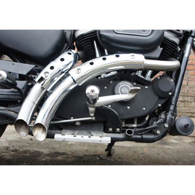 V-Twin Magnum Exhaust for 2004-2013 Harley Sportster - Chrome