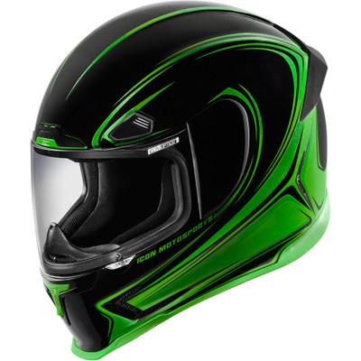 Icon Airframe Pro Halo Helmet - Green