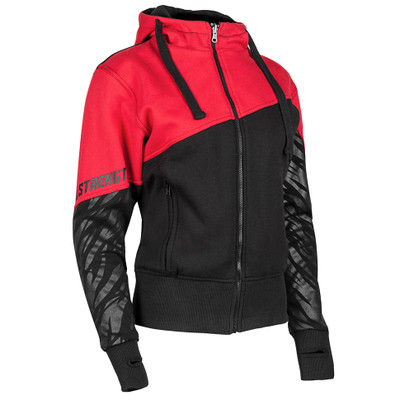Speed and Strength Cat Out'a Hell Armored Hoody - Red/Black