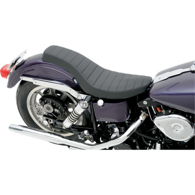 Drag Specialties Spoon-Style Seat for 1958-1984 Harley - Classic Stitch