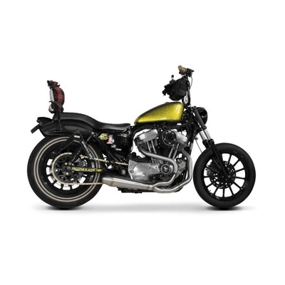 Two Brothers Racing 2-Into-1 Gen II Comp-S Exhaust for 2014-2017 Harley Sportster - Stainless