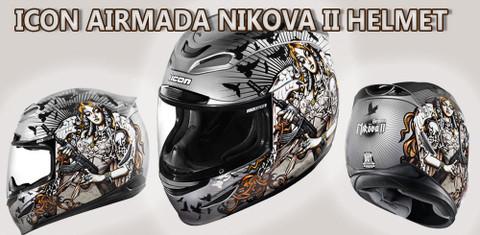 Just Released! The Icon Airmada Nikova II Helmet
