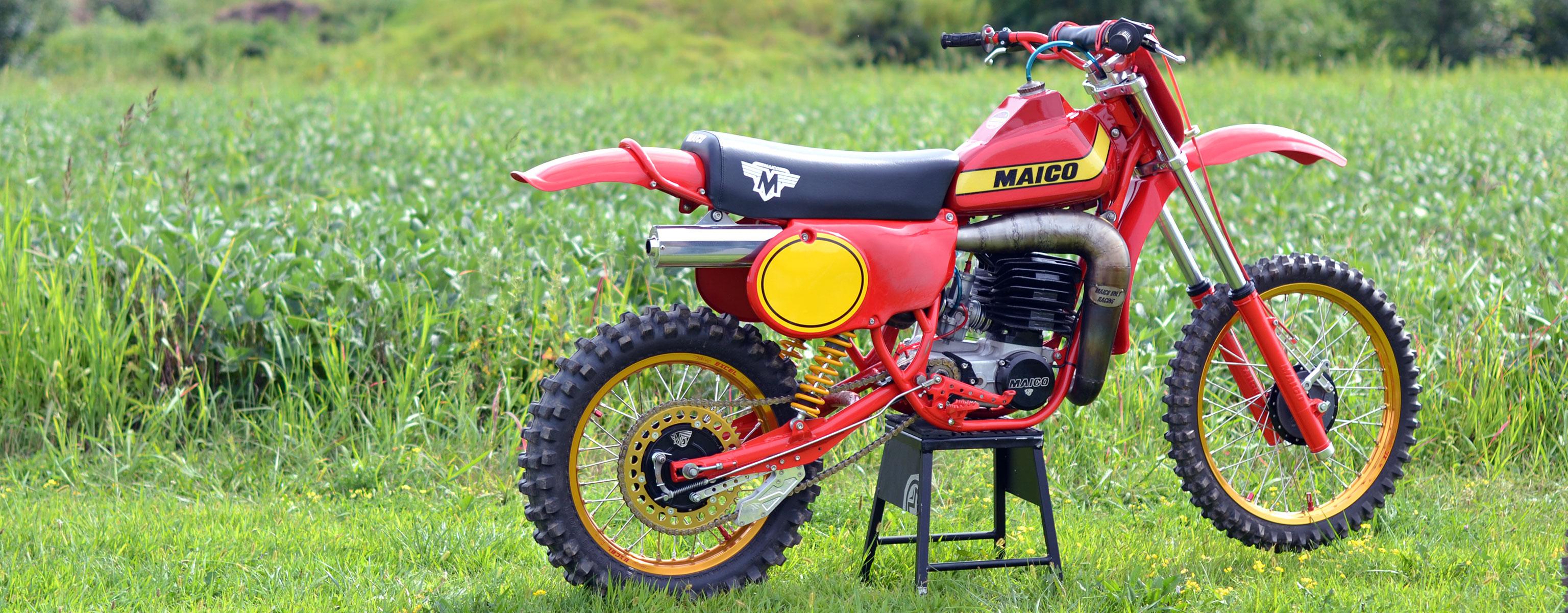 Vintage 1979 Maico Mot...