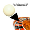 3/4 inch Ball for Roulette Wheel