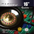 16 inch Deluxe Roulette Wheel set with Accessories
