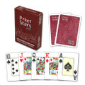 20 Decks- Copag PokerStars Poker Size Jumbo Index Playing Cards (RED)