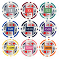 25pc 11.5g 4 Aces Poker Chips (9 colors)