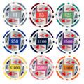 25pc 11.5g 4 Aces Poker Chips (9 colors)