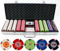Lucky Horseshoe Clay Poker Chips Set 13.5g 500pc