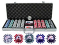 Professional 13.5g 500pc Yin Yang Clay Poker Chip Set