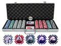 Professional 13.5g 500pc Yin Yang Clay Poker Chip Set