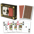 Copag Master Poker Size Jumbo Index Playing Cards (Black Red)