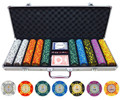 13.5g 500 piece Crown Casino High Stakes Clay Poker Chips