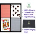 Copag™ Poker Size REGULAR Index - Blue*Red Export Setup