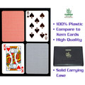 Copag™ Poker Size REGULAR Index - Blue*Red Export Setup