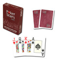 Copag PokerStars Poker Size Jumbo Index Plastic Playing Cards (RED) FREE SHIPPING