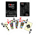Copag PokerStars Poker Size Jumbo Index Plastic Playing Cards (Black) FREE SHIPPING