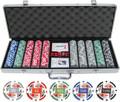11.5g 500pc 4 Aces Poker Chip Set