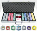 11.5g 500pc Tournament Series Poker Chip Set