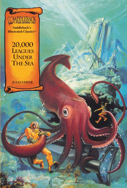 20,000 Leagues Under the Sea Graphic Novel