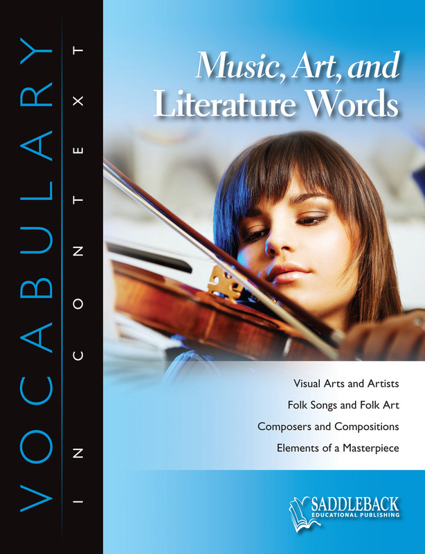 Music, Art, and Literature Words (Digital Download)